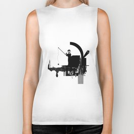 Fishing for Compliments ... Biker Tank