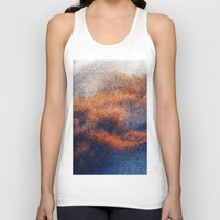 cosmic Tank Tops featuring COSMIC by Keep Omaha Good Weird