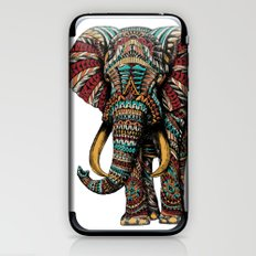 Ornate Elephant (Color Version) iPhone & iPod Skin