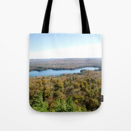Above The Fall Tote Bag