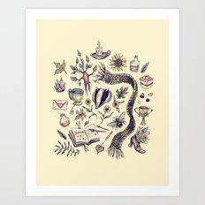 Hufflepuff, Loyal and True Art Print