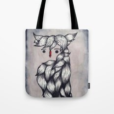 Her Owl Hair Tote Bag