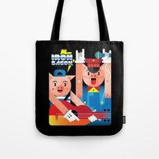 Iron Bacon Tote Bag