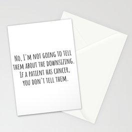 Downsizing Stationery Cards