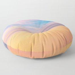 Romantic sky Floor Pillow