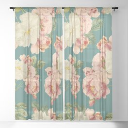Flora temptation Sheer Curtain