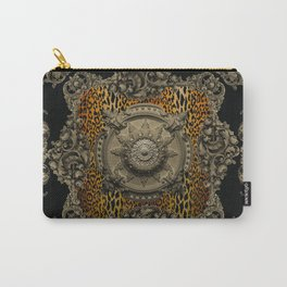 Baroque Panel Carry-All Pouch