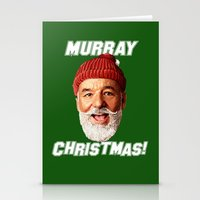 murray Stationery Cards featuring MURRAY CHRISTMAS by ACSM17H