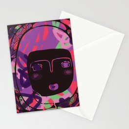 Protect_BLACK Stationery Cards