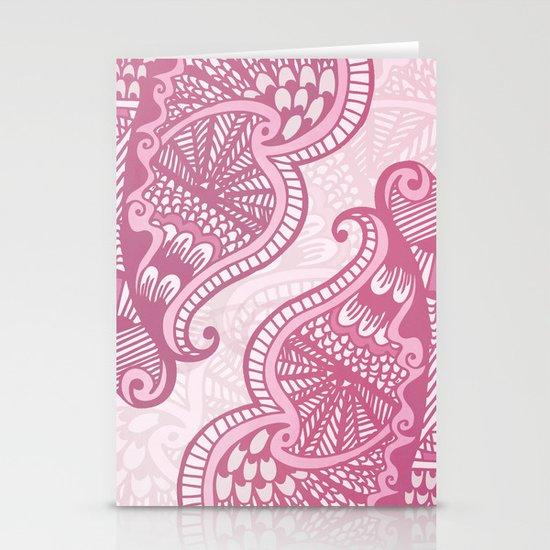 Henna Pattern Stationery Cards