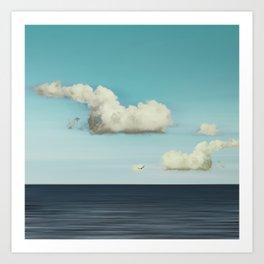 Strange Clouds Art Print