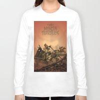 ninja turtles Long Sleeve T-shirts featuring Teenage Mutant Ninja Turtles by s2lart