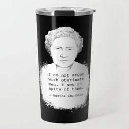 Agatha Christie - Queen of Crime Travel Mug