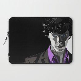 Sherlock Holmes Portrait Laptop Sleeve