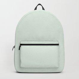 Minimalist pastel mint color decor Backpack