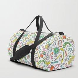 School Is Cool Duffle Bag