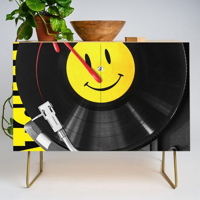 """""""Bloody Turntable"""" Watchmen fan art Credenza"""
