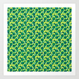 Traditional Japanese pattern HYOUTAN Art Print