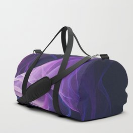 Out of the Blue - Pink, Blue and Ultra Violet Duffle Bag