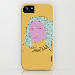 Hedy Lamarr 2 iPhone Case