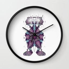 Inkdala XXI - Ink Blot Wall Clock