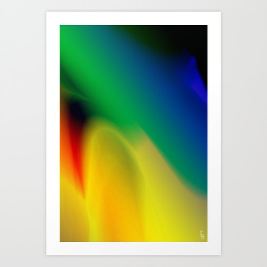Flare X Art Print