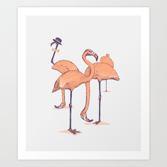 Photobombed Art Print