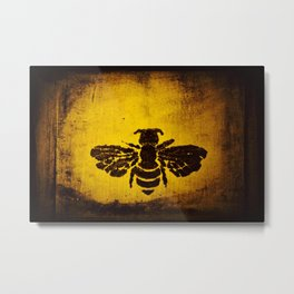 SUNSHINE BUMBLE Metal Print