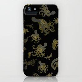 Baby Octopi iPhone Case