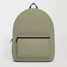 Valspar America Dusty Olive Greenish Beige 6005-4A Solid Color Backpack