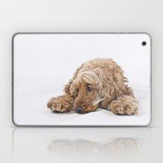 a little puppy dog Laptop & iPad Skin