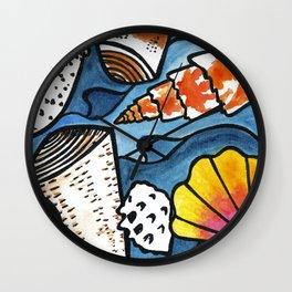 Lots of Lovely Shells  Wall Clock
