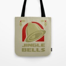 Jingle Bell - Gold Tote Bag