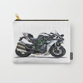The Supercharged Kawasaki Ninja H2 Hypersport Bike Carry-All Pouch