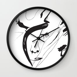 the sin Wall Clock