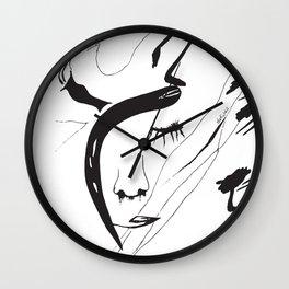 the sin Wall Clock