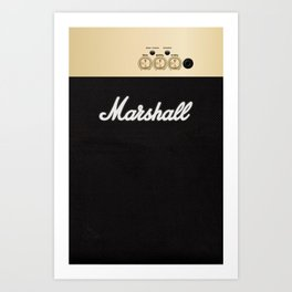 Marshall for iPhone 5 Art Print