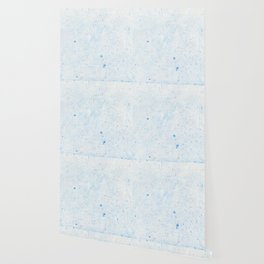 Blue Splatter Paint (Color) Wallpaper