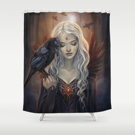 Ravenkin Shower Curtain