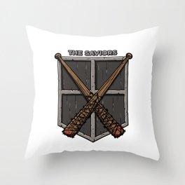 The saviors Throw Pillow