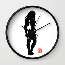 Estampe Nue 3 Wall Clock