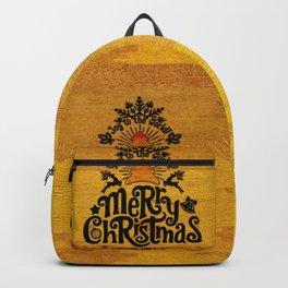 -A25- Arteresting Merry Christmas Artwork Carpet Texture. Backpack