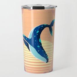 Sky Whale Travel Mug
