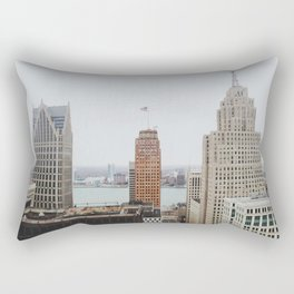 Architectual Variety - Detroit, MI Rectangular Pillow