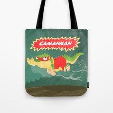 Caimanman Tote Bag