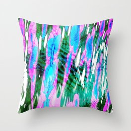 advanced outlines Throw Pillow