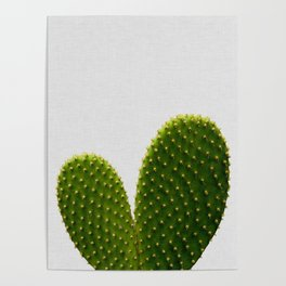 Heart Cactus Poster