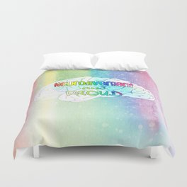 Neurodivergent and proud Duvet Cover