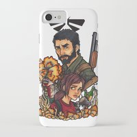 last of us iPhone & iPod Cases featuring The Last of Us by Warbunny