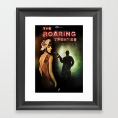 The Roaring Twenties Framed Art Print